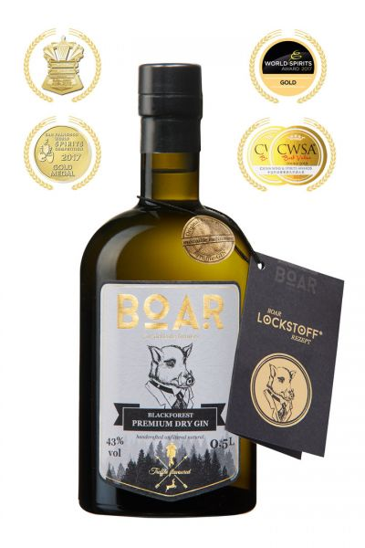 BOAR GIN® 0,5L 43% Vol
